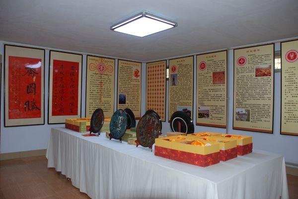 图腾文化艺术在临淄区民间文艺家协会展出